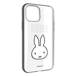 ミッフィー IIII fit Clear iPhone 11 6.1インチ/iPhoneXR 対応ケース フェイス MF-87BK