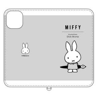ミッフィー iPhone 11 6.1インチ/iPhoneXR 対応フリップカバー ペン MF-88GY