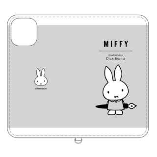 ミッフィー iPhone 11 Pro Max 6.5インチ  対応フリップカバー ペン MF-91GY