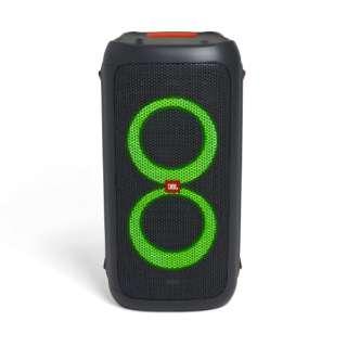 ブルートゥーススピーカー JBLPARTYBOX100JN ブラック [Bluetooth対応]