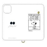 ピーナッツ iPhone 11 6.1インチ/iPhoneXR 対応フリップカバー ジョー・クール SNG-455A