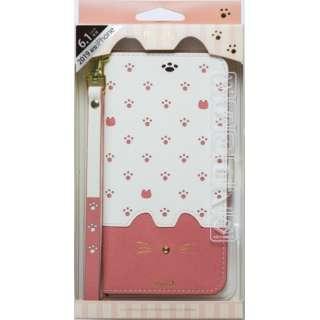 iPhone 11 6.1インチ 専用手帳型ケース Minette Pink iP19_61-MIN01