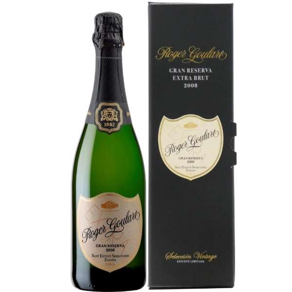 [数量限定] ロジャーグラート グラン・レゼルバ 2008 750ml【スパークリングワイン】