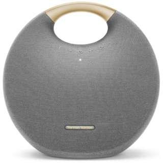ブルートゥース スピーカー HKOS6GRYJN グレー [Bluetooth対応 /防水]
