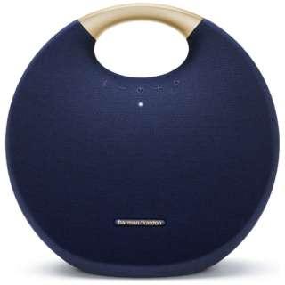 ブルートゥース スピーカー HKOS6BLUJN ブルー [Bluetooth対応 /防水]