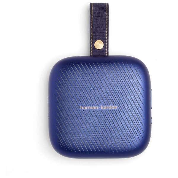 HKNEOBLUBSG ブルートゥース スピーカー ブルー [Bluetooth対応 /防水]