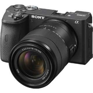 ILCE-6600M ミラーレス一眼カメラ α6600  高倍率ズームレンズキット ブラック [ズームレンズ]
