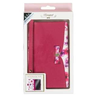 iPhone 11 6.1インチ 専用手帳型ケース Bouquet Raspberry iP19_61-BQ04