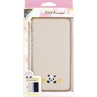 iPhone 11 6.1インチ 専用手帳型ケース Petit Animal パンダ iP19_61-PA03