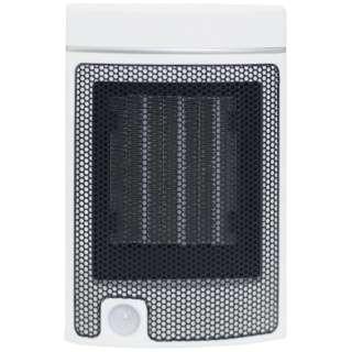 DMSF-J06-W 電気ファンヒーター ミニ ホワイト [人感センサー付き]