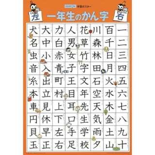 GP-51 学習ポスター 一年生のかん字