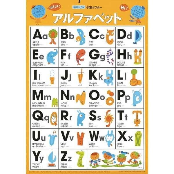 GP-31 学習ポスター アルファベット