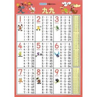 GP-41 学習ポスター 九九