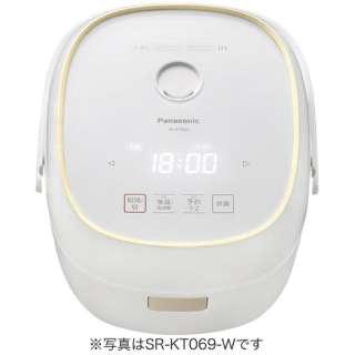 SR-KT069-W 炊飯器 ホワイト [3.5合 /IH]