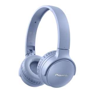 ブルートゥースヘッドホン ブルー SE-S3BT(L) [リモコン・マイク対応 /Bluetooth]