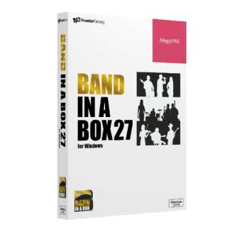 Band-in-a-Box 27 for Win MegaPAK [Windows用]