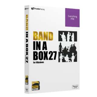 Band-in-a-Box 27 for Win EverythingPAK [Windows用]