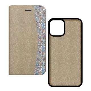 iPhone 11 6.1インチinch 2WAY CASE Glitter Gold SM-BKIXIR-024