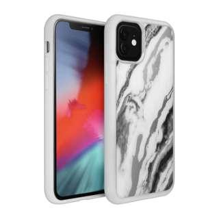 iPhone 11 6.1インチ  LAUT ミネラルグラス ミネラルホワイト L_IP19M_MG_W