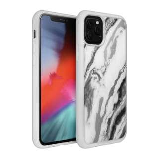 iPhone 11 Pro Max 6.5インチ  LAUT ミネラルグラス ミネラルホワイト L_IP19L_MG_W