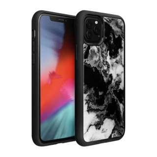 iPhone 11 Pro Max 6.5インチ  LAUT ミネラルグラス ミネラルブラック L_IP19L_MG_BK