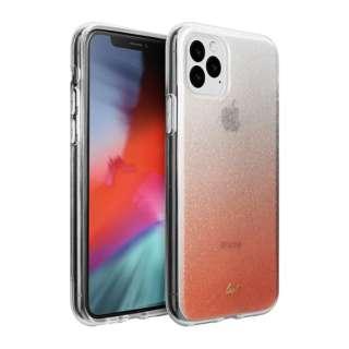 iPhone 11 Pro Max 6.5インチ  LAUT オンバー スパークルピーチ L_IP19L_OS_P