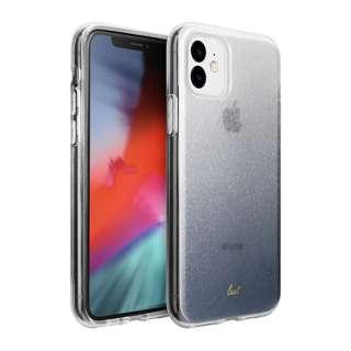 iPhone 11 6.1インチ  LAUT オンバー スパークル ブラック L_IP19M_OS_BK