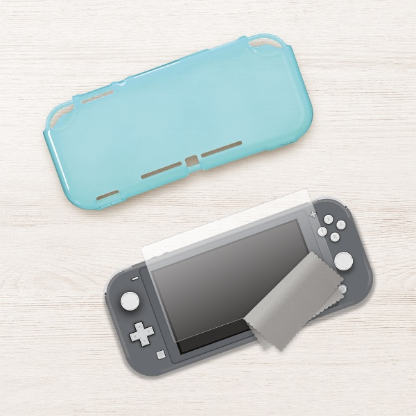 3-style LABEL For Nintendo Switch Lite STARTING SET - SoftCover - CP-3SSLC1/A [ターコイズブルー]