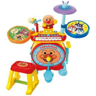 それいけ!アンパンマン ノリノリライブ♪BIG電子ドラム&キーボード