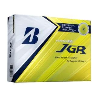 ゴルフボール TOUR B JGR《1スリーブ(3球)/マットイエローエディション》