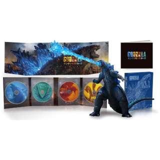 【初回特典付き】 ゴジラ キング・オブ・モンスターズ 完全数量限定生産 4枚組 S.H.Monster Arts GODZILLA[2019] Poster Color Ver. 同梱 【Ultra HD ブルーレイソフト+DVD】