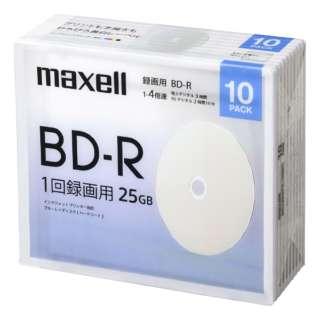 録画用ブルーレイディスクBD-R 10枚パック BRV25WPE.10SBC