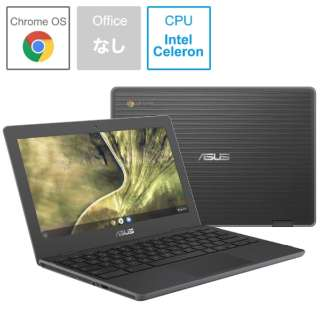 C204MA-BU0030 ノートパソコン Chromebook ダークグレー [11.6型 /intel Celeron /eMMC:32GB /メモリ:4GB /2019年9月発売]