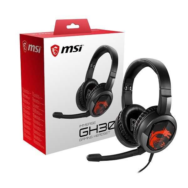 ゲーミングヘッドセット Immerse GH30 GAMING [φ3.5mmミニプラグ /両耳 /ヘッドバンドタイプ]