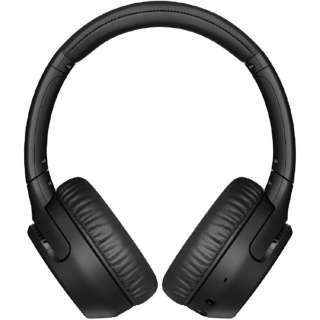 ブルートゥースヘッドホン ブラック WH-XB700 BC [リモコン・マイク対応 /Bluetooth]