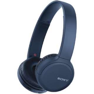 ブルートゥースヘッドホン ブルー WH-CH510 LZ [リモコン・マイク対応 /Bluetooth]