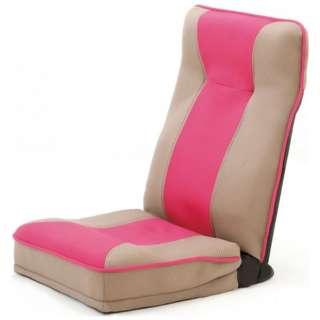 <整体師さんが推奨する>健康ストレッチ座椅子 0373610 ピンク