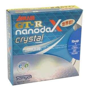 ライン GT-R nanodaX Crystal Hard ナノダックスクリスタルハード(クリスタルクリア/100m 12lb)