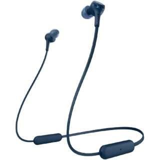 ブルートゥースイヤホン EXTRA BASS ブルー WI-XB400 LZ [リモコン・マイク対応 /ネックバンド /Bluetooth]