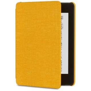 Amazon Kindle Paperwhite (第10世代) 用 ファブリックカバー B079GHVZ5K カナリアイエロー
