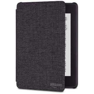 Amazon Kindle Paperwhite (第10世代) 用 ファブリックカバー B079GH79HV チャコールブラック