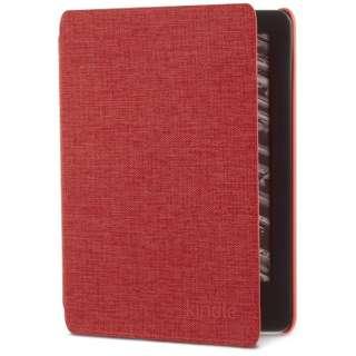 Amazon純正 Kindle(第10世代) 用 ファブリックカバー B07K8Q1R85 パンチレッド