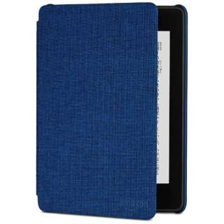Amazon Kindle Paperwhite (第10世代) 用 ファブリックカバー B079GFGJ28 マリンブルー