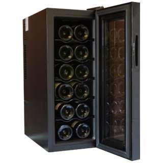 WCF12 ワインセラー Forest Life ブラック [12本 /右開き] 《基本設置料金セット》