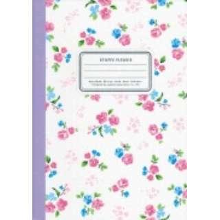 CF158W B6花柄ノート ホワイト CF158W