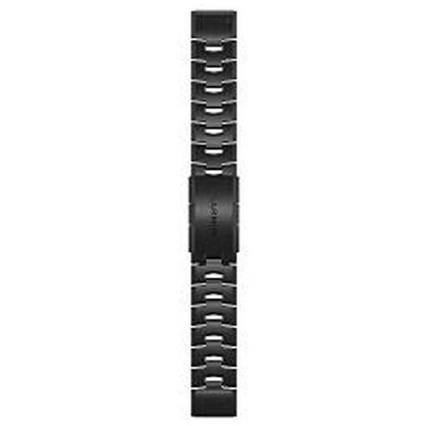 QuickFit  F6 22mm Carbon Gray DLC Titanium 010-12863-19