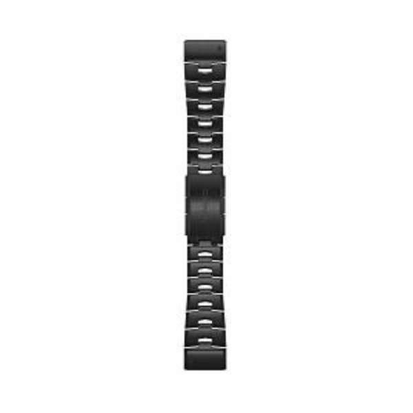 QuickFit F6 26mm CarbonGray DLC Titanium 010-12864-19