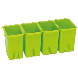 野菜スタンドケース連結式 グリーン FVR1 グリーン