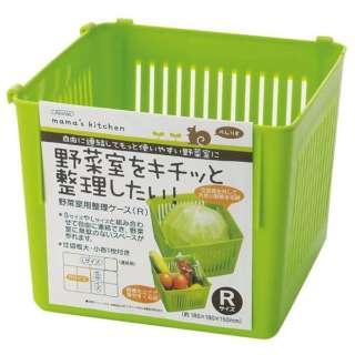 冷蔵庫野菜室 整理ケースR グリーン CVBR1 グリーン