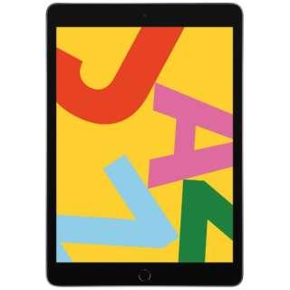 iPad 10.2インチ Retinaディスプレイ Wi-Fiモデル MW742J/A スペースグレイ(第7世代) [32GB]